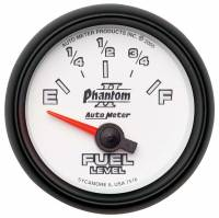 Auto Meter - Auto Meter Phantom II Electric Fuel Level Gauge - 2-1/16 in.