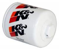 "K&N Filters - K&N Performance Gold Oil Filter - Canister - 3-3/4"" Tall - 22 mm x 1.5 Thread - GM/Hummer/Jeep/Mopar/Saab/Saturn/Suzuki"