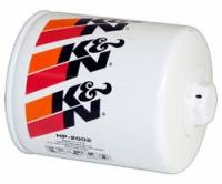 "K&N Filters - K&N Performance Gold Oil Filter - Canister - 4-11/16"" Tall - 13/16-16"" Thread - GM"