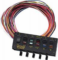 Painless Performance Products - Painless Performance 6 Switch Rocker Circuit Breaker Panel