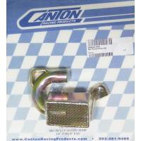 Canton Racing Products - Canton Steel Drag / Street Oil Pump Pickup - For 8 in. Deep SB Chevy Pans w/ SB High Volume Pumps w/ 0.75 in. Tube (M155HV)