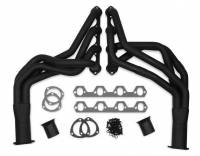 "Flowtech - Flowtech Long Tube Headers - Ford Mustang 5.0L - 1.625"" - 3"" Collector - Black Paint"