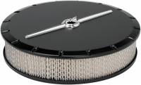 "Billet Specialties - Billet Specialties 14"" Air Cleaner Strmlne Black"