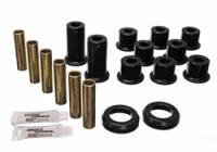 Energy Suspension - Energy Suspension Leaf Spring Bushing Set - Black