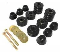 Energy Suspension - Energy Suspension Body Cab Mount Set - Black