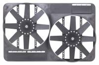 "Flex-A-Lite - Flex-A-Lite Dual 13-1/2"" Electric Fan System w/ Full Shroud"