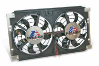Flex-A-Lite - Flex-a-lite Lo-Profile S-Blade Electric Fan - 12 1/8 in. Diameter