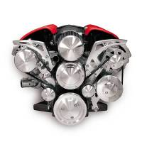March Performance - March Performance LS2/7 Vette Style Track System Alternator Air Conditioner Power Steering Water Pump