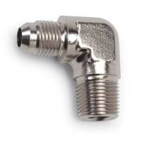 Russell Performance Products - Russell Endura Adapter Fitting #8 to 3/8 NPT 90