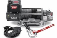 Warn - Warn M8000-S Winch w/ Syhthetic Rope