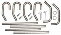 "Pypes Performance Exhaust - Pypes Performance Exhaust 2.5"" SS Builders Kit Exhaust w/o X-Pipe"