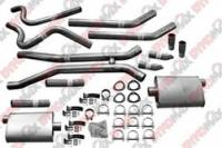 Thrush - Thrush Dual Kit - 2.5 in. Aluminized Pipes