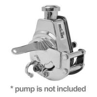 Tuff Stuff Performance - Tuff Stuff SB Chevy Power Steering Bracket Short Water Pump Chrome