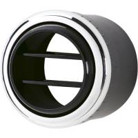 Billet Specialties - Billet Specialties Round-Billet Air Conditioning Vent Assembly - Polished - 2.5 in. Diameter - Bezel-Style