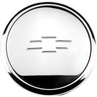 Billet Specialties - Billet Specialties Bowtie Logo Standard Horn Button - Small - Polished - Fits Billet Specialties