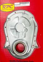 Racing Power - Racing Power Co-Packaged BBC Steel Timing Chain Cover Unplated