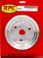Racing Power - Racing Power Co-Packaged Chrome Steel Crankshaft Pulley SBC Short Wp 6.8
