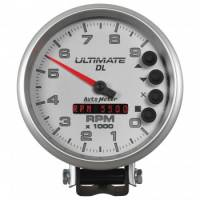 "Auto Meter - Auto Meter 5"" Ultimate DL Tach - 9000 RPM Silver"
