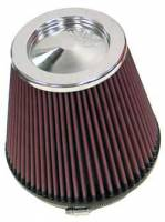 "K&N Filters - K&N Universal Clamp-On Air Filter - Conical - 6"" I.D. Flange x 7.5"" Base x 5"" Top x 6.5"" Tall"