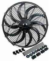 Allstar Performance - Allstar Performance Curved Blade Electric Fan - 16""