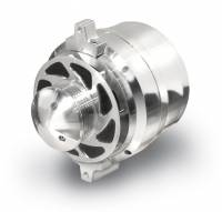 March Performance - March Performance 140 amp Alternator 12V 1-Wire 10Si Style Case - Aluminum Case