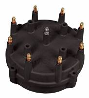 MSD - MSD Pro-Cap Distributor Cap HEI Style Brass Terminals Screw Down - Black