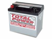 "Total Power Racing Batteries - Total Power Battery AGM Battery 12V 1200 Cranking Amps Top Post Screw"" Terminals - 7.75"" L x 6.875"" H x 5.25"" W"