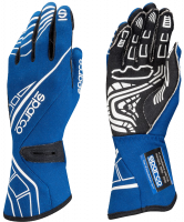 Sparco - Sparco Lap RG-5 Racing Gloves - Blue - X-Large / Euro 12
