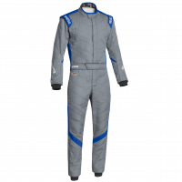 Sparco - Sparco Victory RS-7 Racing Suit - Grey / Blue