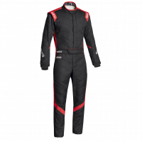 Sparco - Sparco Victory RS-7 Racing Boot Cut Suit - Black / Red
