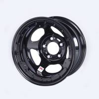 "Bassett Racing Wheels - Bassett Inertia Advantage Wheel - 15"" x 8"" - Black Powder Coat - 3"" Backspace - 5 x 5"" Bolt Pattern"
