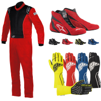 Alpinestars - Alpinestars Knoxville Suit Package - Red/Black