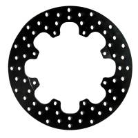 "Wilwood Engineering - Wilwood Drilled Steel Rotor - 8 Bolt - .350"" Width - 11.44"" Diameter x 7"" Bolt Circle - .323"" Hole - 4.9 lbs."
