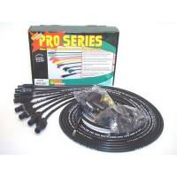 Taylor Cable Products - Taylor 8mm Pro Wires Universal Spark Plug Wire Set - Black - TCW Wire Conductor - 180° Plug Boots - 8 Cylinder Applications
