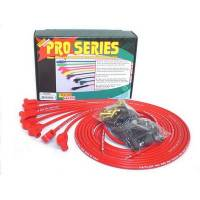 Taylor Cable Products - Taylor 8mm Pro Wires Universal Spark Plug Wire Set - Red - TCW Wire Conductor - 90° Plug Boots - 8 Cylinder Applications