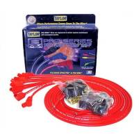 Taylor Cable Products - Taylor 8mm Spiro-Pro Universal Spark Plug Wire Set - Red - 135° Plug Boots - 8 Cylinder Applications