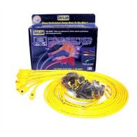 Taylor Cable Products - Taylor 8mm Spiro-Pro Universal Spark Plug Wire Set - Yellow - 135° Plug Boots - 8 Cylinder Applications