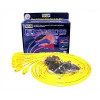 Taylor Cable Products - Taylor 8mm Spiro-Pro Universal Spark Plug Wire Set - Yellow - 180° Plug Boots - 8 Cylinder Applications
