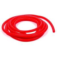 "Taylor Cable Products - Taylor Convoluted Tubing - Red - 1/4"" I.D. x 10 Ft."