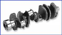 Scat Enterprises - Scat Stock Replacement Cast Steel Crankshaft - SB Chevy 350, Late Model w/ 1 Pc. Rear Seal