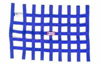 "RJS Racing Equipment - RJS Ribbon Window Net - Blue - 18"" x 24"""