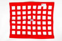 "RJS Racing Equipment - RJS Ribbon Window Net - Red - 18"" x 24"""
