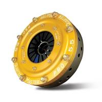 "Quarter Master - Quarter Master Pro Series 5.5"" Chevy Button Style Clutch Assembly - 3 Disc - 1-5/32"" x 26 Spline - 8.0 lbs."