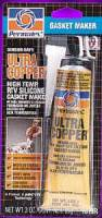 Permatex - Permatex® Ultra Copper® Hi-Temp RTV Silicone Gasket Maker - 3 oz. Tube