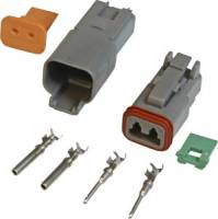 MSD - MSD Deutsch 4-Pin Connector - 16 Gauge