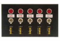 "Moroso Performance Products - Moroso Accessory Switch Panel - 4"" x 6.75"""