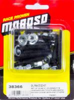 Moroso Performance Products - Moroso Honda Oil Pan Stud Kit - 6mm - Fits Honda - Acura - Mazda Rotary - Dodge Neon - Toyota Mr2 and Others; Includes 22 Studs and Nuts - M6 x 1.00 x 35mm