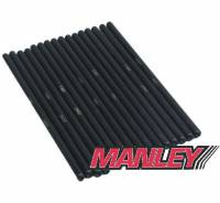 "Manley Performance - Manley Pro Series Chrome Moly Pushrod - 5/16"" Diameter - Length: 7.350"" - (Set of 16)"