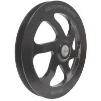"KRC Power Steering - KRC 6.0"" V-Belt Pulley - GM Offset (Aluminum Pump Only)"