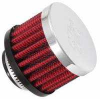 "K&N Filters - K&N Clamp-On Transmission, Rear End Breather Vent Filter - 3/4"" Flange I.D."